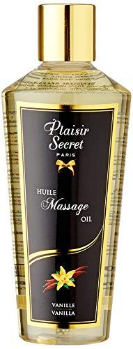 Plaisirs Secrets Huile de Massage Sèche Sensuelle 100% Végétale Vanille 250 ml