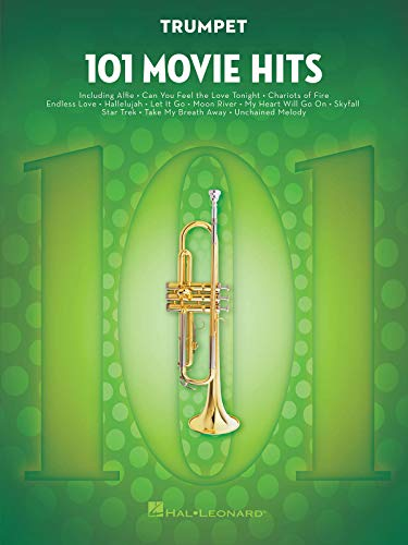 101 Movie Hits For Trumpet: Noten, Sammelband für Trompete