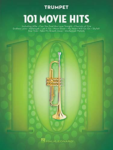 101 Movie Hits For Trumpet: Noten, Sammelband für Trompete