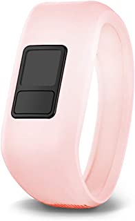 iBREK for Garmin Vivofit jr/jr 2/3 Bands, Silicon Stretchy Replacement Watch Bands for Kids Boys Girls Small Large(No Tracker)