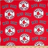 Country Snuggles Valance/Curtain Panel Red Sox red (55' W x 15' L)