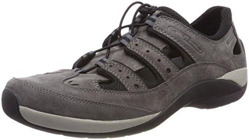 camel active Herren Moonlight 12 Sneaker, Grau (Dk.Grey/Black), 43 EU