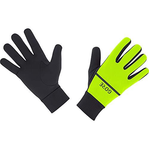 GORE WEAR R3 Unisex Handschuhe, 9, Neon-Gelb/Schwarz