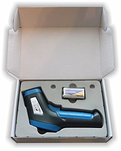 Temp Gun by Thermal Predator-Infrared IR Thermometer for Grilling, Risk Free Guarantee. Best Laser Accuracy to Probe for Instant-Read Surface Temperatures using non contact sensor on Digital Display.
