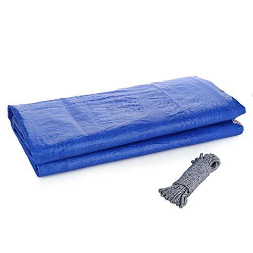 Wyi - Cubierta rectangular para piscina, cubierta para piscina, jardín familiar, cubierta impermeable para el polvo, lona impermeable (solo cubierta para piscina), 16,4 x 9,8 pies