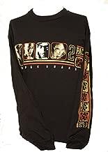 Gildan New! Men's Tupac Shakur Vintage Long Sleeve Shirt - 2 Pac - XL