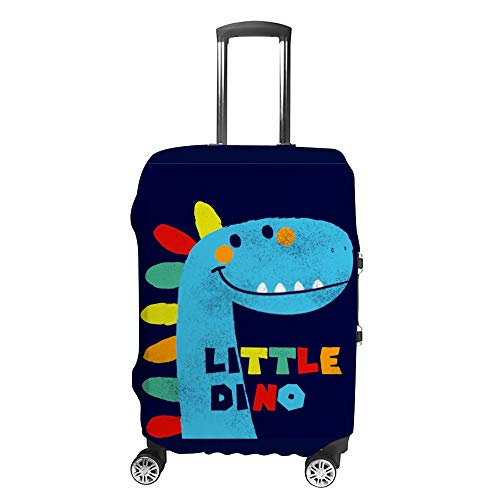 HAOXIANG Travel Luggage Covers Little Dino Suitcase Covers Protector Bag Washable
