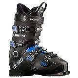 SALOMON Botas Alpinas S/Pro HV 90 IC, esquí Hombre, Black/Race, 45.5/46.5 EU