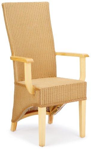 Hansen 6232 Lloyd-Loom-Stuhl 59 x 50 x 111 cm Natur