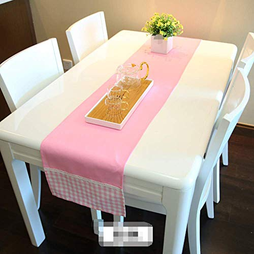 Pastoral Fresh Grid Long Table Runner Country Table Cloth Decoration Wedding Party Event Table Decoration 32x210cm