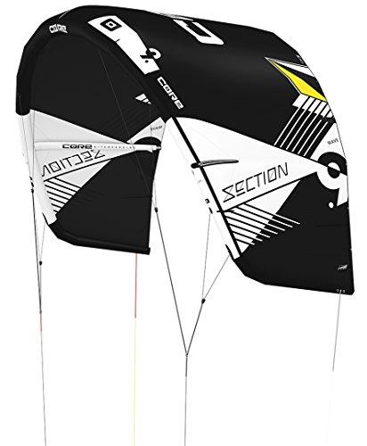 CORE SECTION WAVE Kite black/black, 6.0
