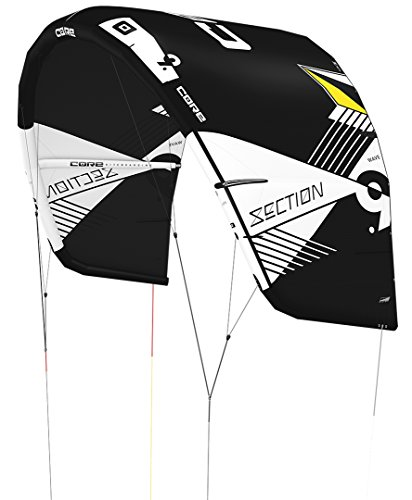 CORE SECTION WAVE Kite black/black, 6.0