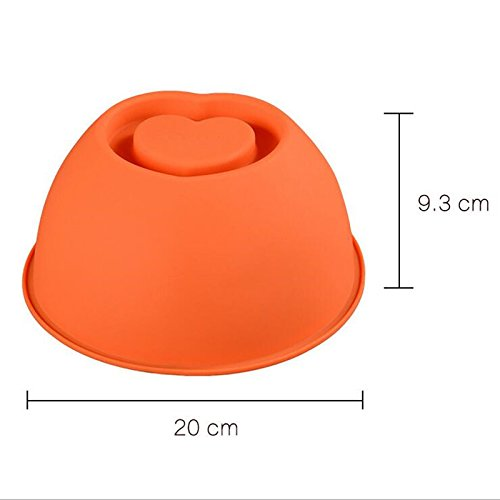 Nashinals Cake Heart Bottom Silicone Cake Mould For Fondant Bakeware Baking Pan Stencil Decorating Tools Download all