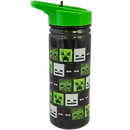 Minecraft, Kunststoff-Trinkflasche, perfektes Geschenk, PP.