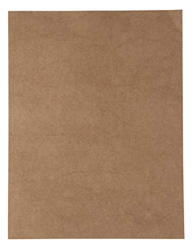 Kraft Cardstock - 96-Pack Letter Sized Stationery Paper, Printable 175GSM 65lb Cover Cardstock, Perfect for Menus, Documents, Invitations, Arts, Crafts, Office Use, 8.5 x 11 Inches