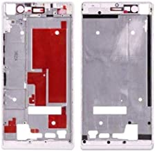 Leya Replacement Parts Front Housing Screen Frame Bezel for Huawei Ascend P7(Black) (Color : White)