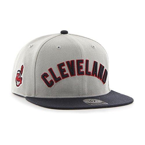 '47 Brand Cleveland Indians Script Sure Shot Snapback NHL Cap