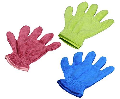 RESPEKT Mikrofaser Staubtuch-Handschuh, wunderbare softer Staubhandschuh, Das Original aus dem TV!!! (3tlg, bunt)