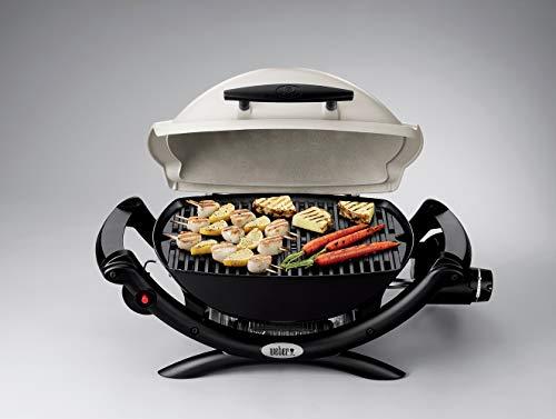 Weber Q 1000 Gas Barbecue, Titanium