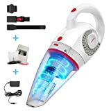 GeeMo Handheld Vacuum Cleaner 8500PA Wet Dry Powerful Cyclonic Suction...