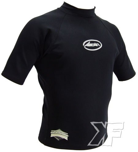 Metalite Camiseta Ascan 0.5mm Manga Corta Negro M