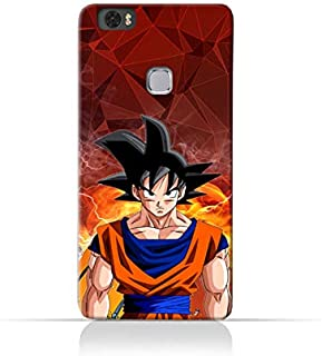 TPU Silicone Case with Dragon Ball Z Goku Design for Huawei Honor Note 8