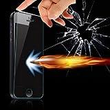 Evess Protector Pantalla Cristal Templado iPhone 5, 5C, 5S Maxima Proteccion Premium