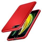 iPhone SE 2020 Hülle von Spigen [Thin Fit Pro] rot