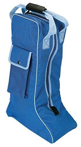 Equi-Theme/Equit'M Boots Bolsa, Unisex Adulto, Azul/Azul Claro Ribete