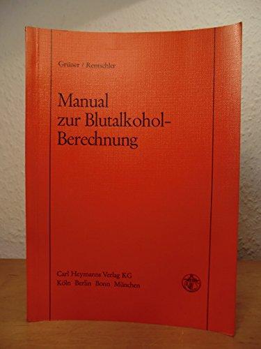 Manual zur Blutalkohol-Berechnung