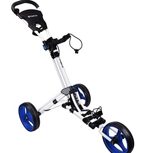 Fastfold Trike Golftrolley Weiss/blau