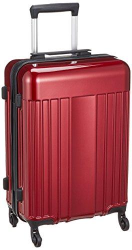 [マンハッタンエクスプレス] スーツケース ワーゲン S 32L 2.8kg ファスナー 機内持ち込み 55 cm レッド