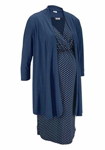 2tlg. Set Umstandskleid Umstandsjacke Neu Schwangerschaft Jacke Kleid