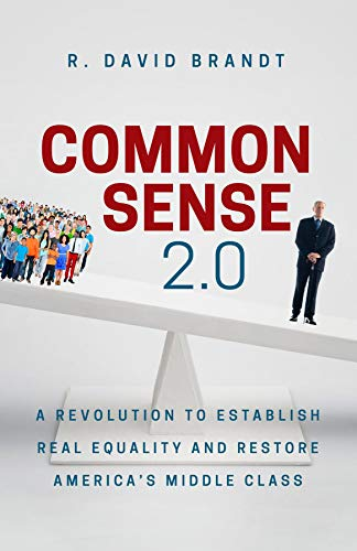Common Sense 2.0: A Revolution to Establish Real Equality and Restore America's Middle Class (English Edition)