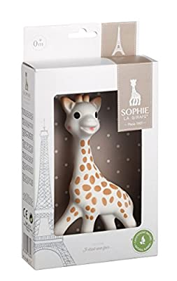 Vulli Sophie The Giraffe New Box, Polka Dots, One Size by caliSSON Inc