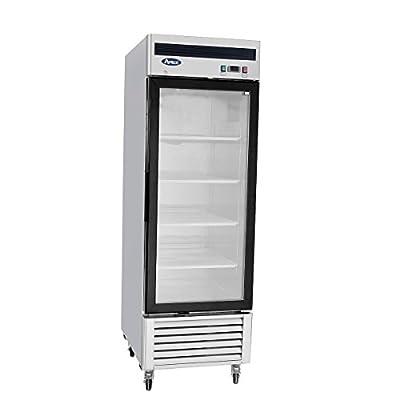 New Commercial 1 Glass Door Freezer