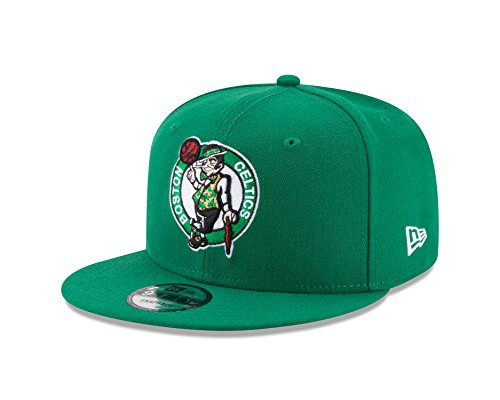 New Era NBA Boston Celtics Men's 9Fifty Team Color Basic Snapback Cap, One Size, Green