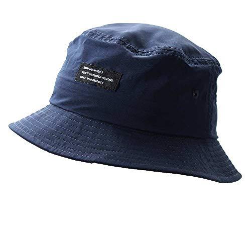 帽子 メンズ レディース ハット 撥水 バケットハット バケハ 大きいサイズ メンズ帽子 夏 春帽子 ハット帽子 14+ 14プラス イチヨンプラス ihat0458-nv
