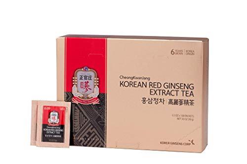 Cheong Kwan Jang KGC Korean Red Ginseng Extract Powder Tea (3 gram x 100 bags)