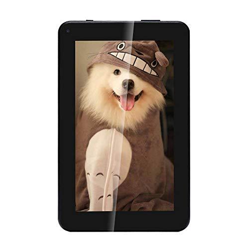 Haehne 7 Zoll Tablet PC - Google Android 5.1 Quad Core, Bildschirm 1024 x 600, 1GB RAM 8GB ROM, Dual Kameras 2.0MP + 0.3MP, 2800 mAh, WiFi, Bluetooth, Blau