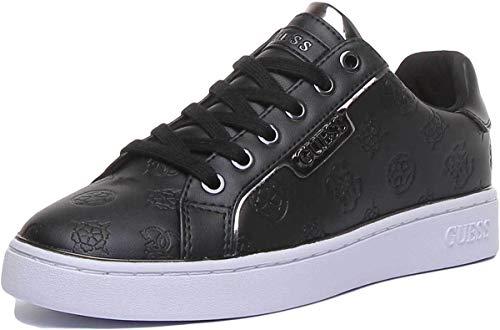 Guess Damen Footwear Active Lady Oxford-Schuh, Nero Black, 39 EU