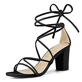 Best strappy chunky heels Reviews