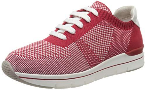 MARCO TOZZI 2-2-23785-24, Zapatillas Mujer, Rojo (Red Comb 597), 38 EU