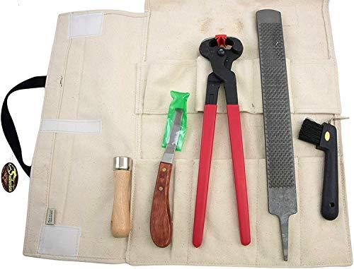 Southwestern Equine Farrier Kit Canvas Travel Case (Hoof Trimming Kit)