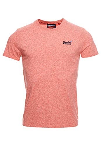 Superdry Herren OL Vintage Embroidery Tee Freizeithemd, Orange (Grenadine Grit 3GH), XX-Large