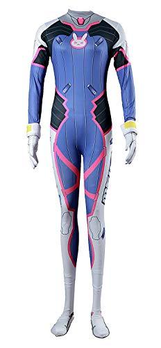 CHIUS Cosplay Costume Mech Pilot D.Va Hana Song Outfit Ver 1