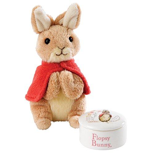 Beatrix Potter Boîte à Bijoux Flopsy & Jouet de