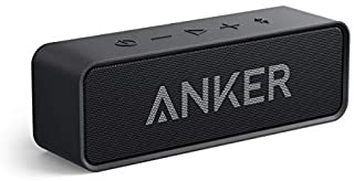 Bluetooth Speakers, Anker Soundcore Bluetooth Speaker with Loud Stereo Sound, 24-Hour Playtime, 66 ft Bluetooth Range, Bui... photo