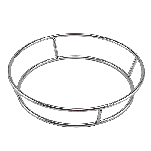 Super leader Wok Ring,Stainless Steel Wok Rack Insulated Pot Mats,Cookware Ring,Wok accessories for Kitchen