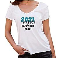 Oiwenjuanhレディース Tシャツ 2021年の柄 ラウンドネック ゆったり おしゃれ 涼しい 透気 柔らかい生地 シンプルなデザイン ふわふわ 春 夏 秋 服 白い トップス